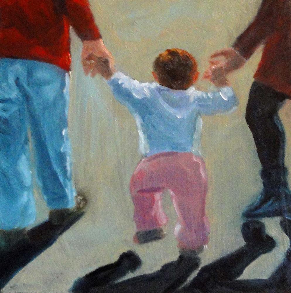 """Out For A Walk"" original fine art by Cietha Wilson"