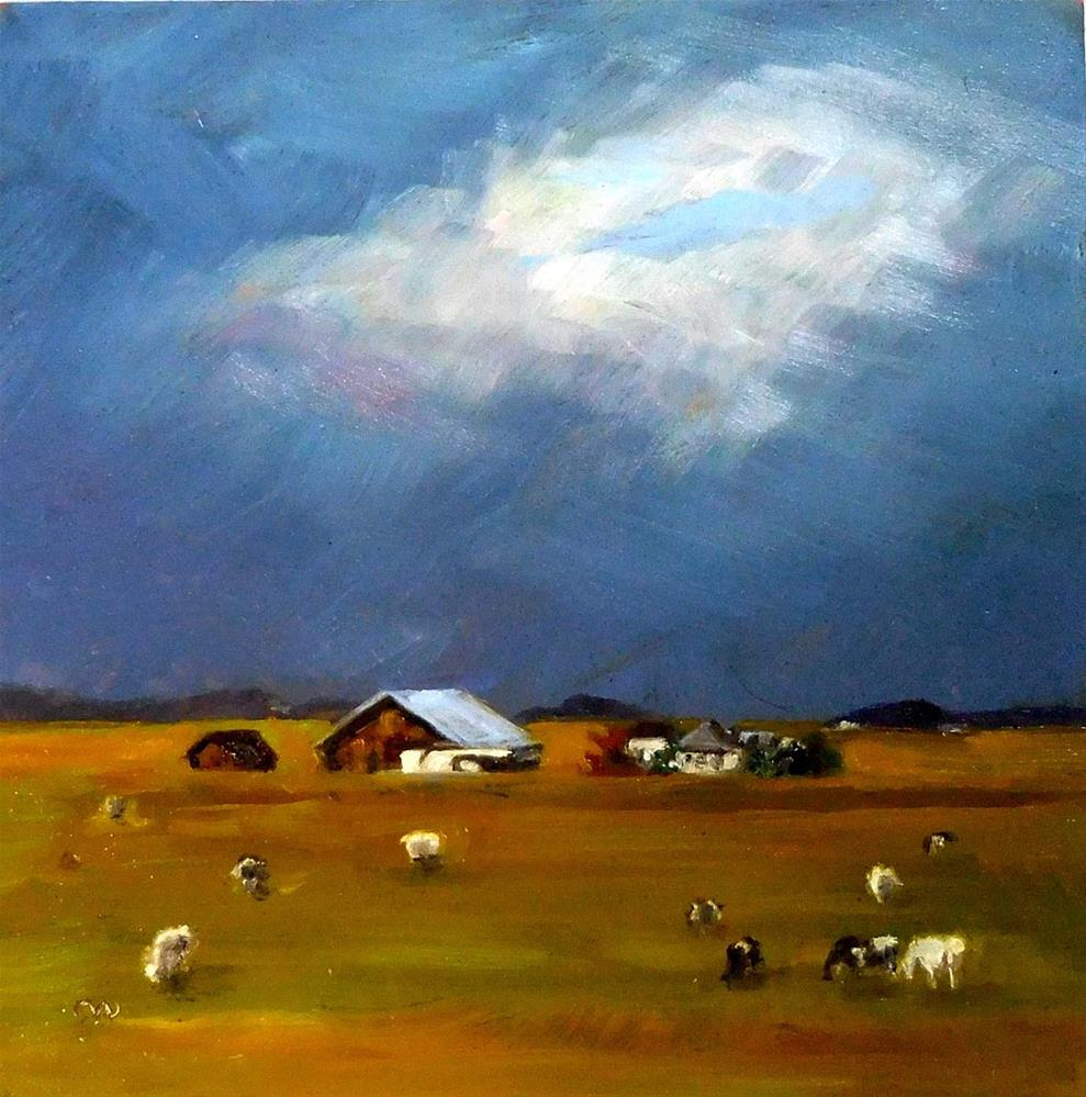 """Silver Lining"" original fine art by Cietha Wilson"