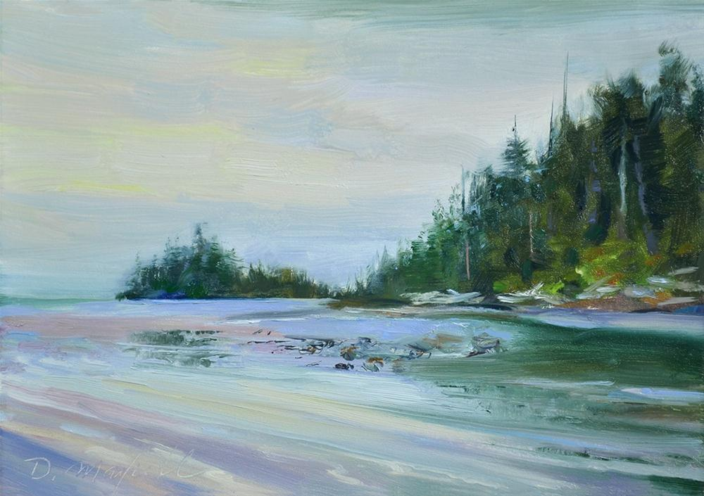 """""""Low Tide"""" original fine art by Denise Maxwell"""