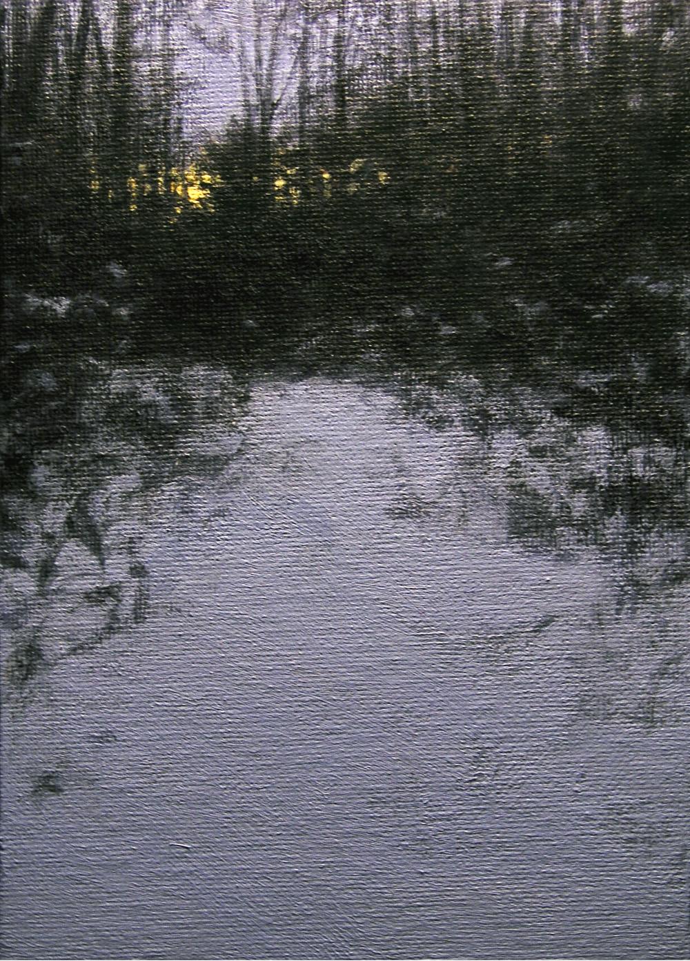 """""""LP7 Frozen Twilight"""" original fine art by Danny O'Leary"""