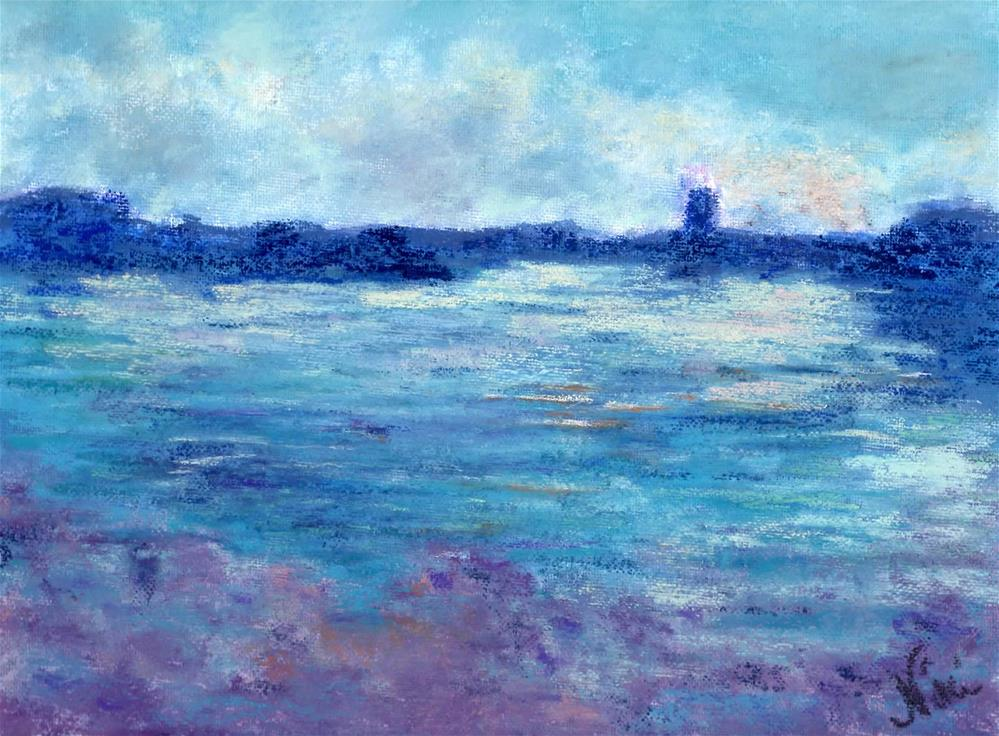 """Cool Water"" original fine art by Niki Hilsabeck"