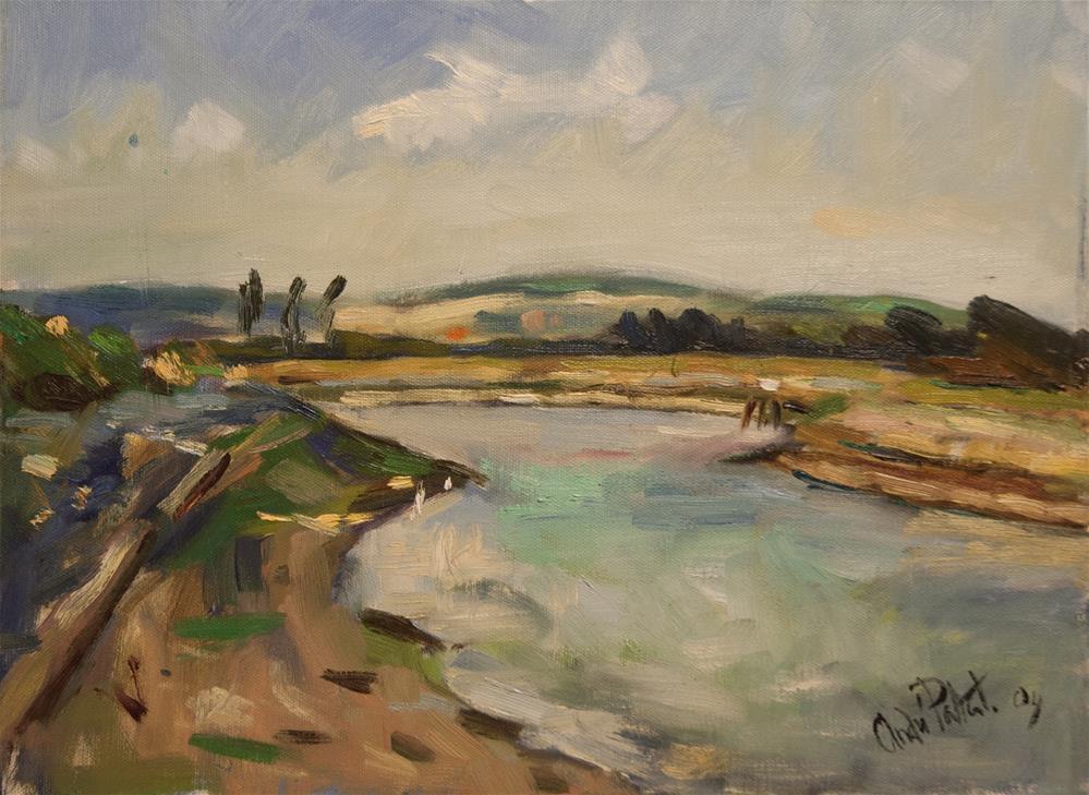 """The River Arun"" original fine art by Andre Pallat"
