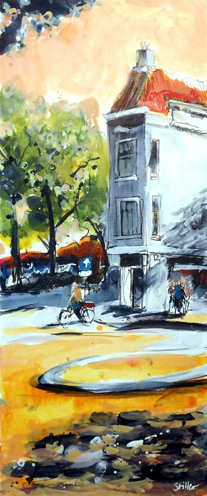 """2915 Memories of Amsterdam 03"" original fine art by Dietmar Stiller"