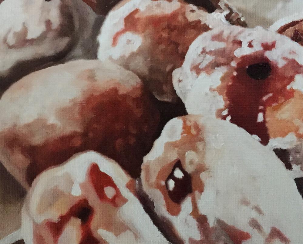 """Donuts Galore"" original fine art by John Cameron"