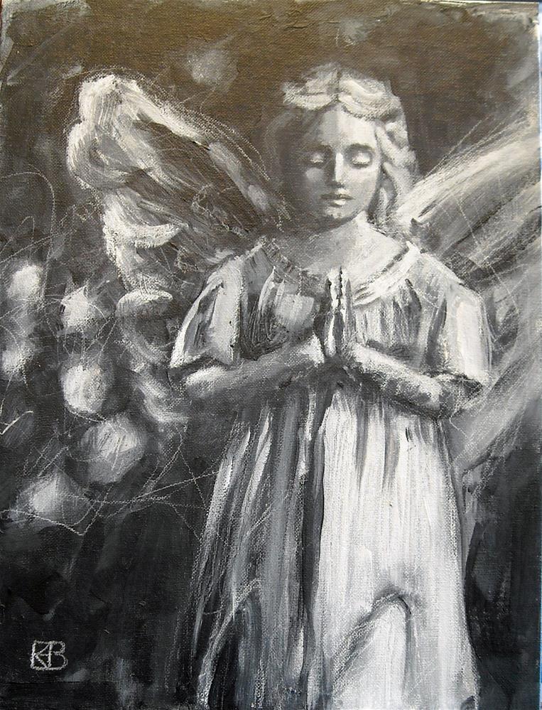 """""""Prayer for Peace"""" original fine art by Kathleen Barnes"""