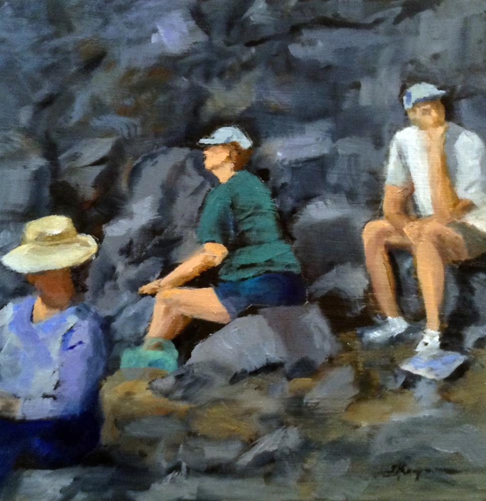 """""""Rock Artists"""" original fine art by Shelley Koopmann"""