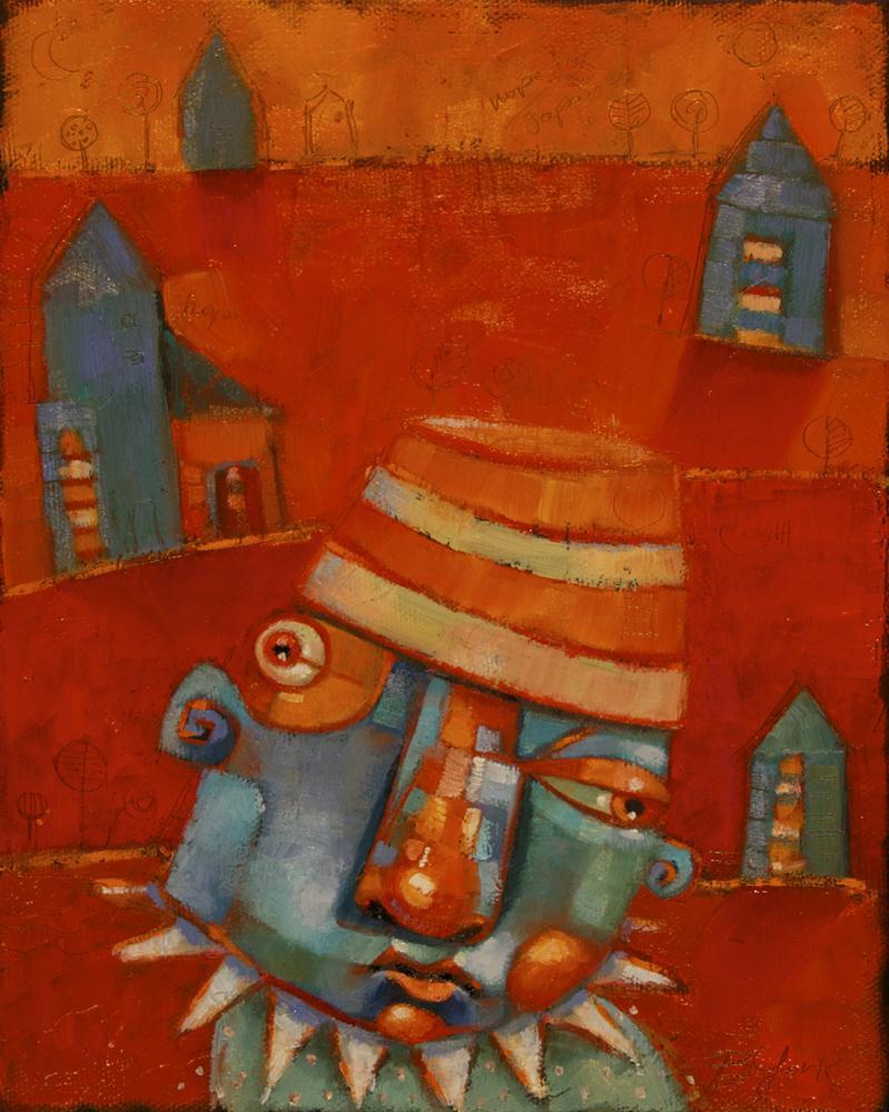 """Homesick"" original fine art by Brenda York"