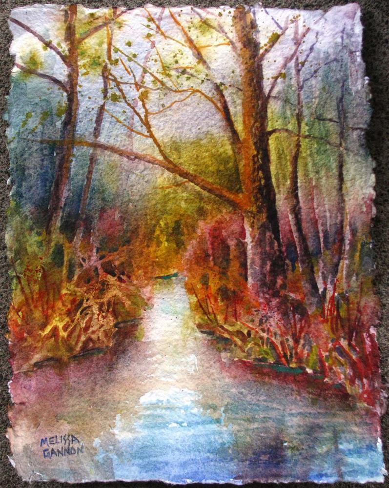 """""""Tiny Beginnings of Spring"""" original fine art by Melissa Gannon"""