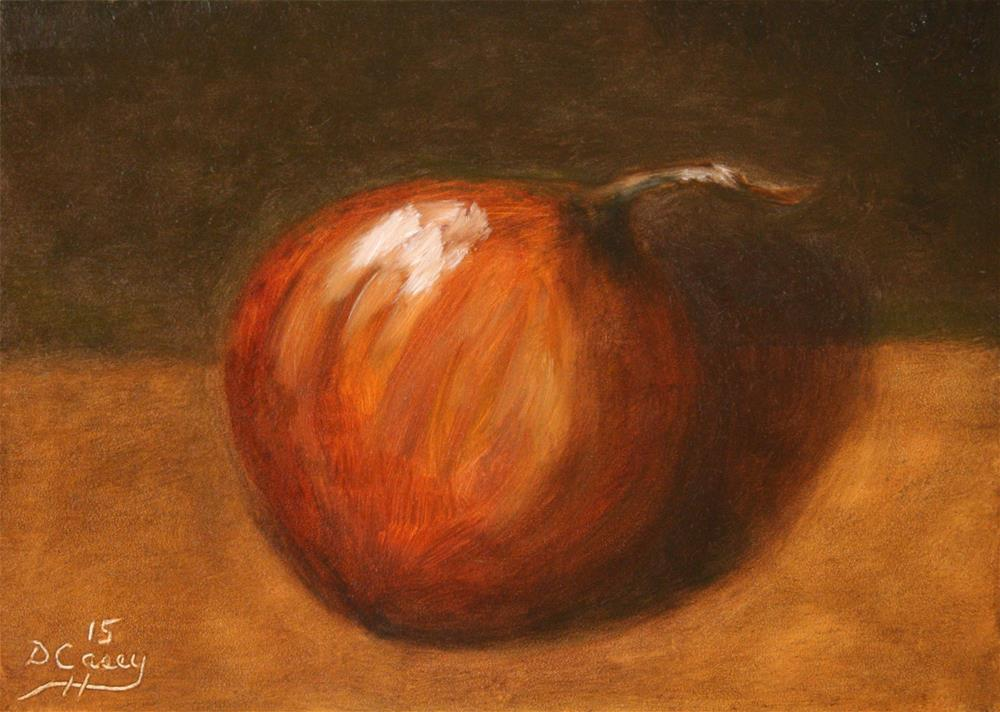 """Onion 002"" original fine art by Dave Casey"