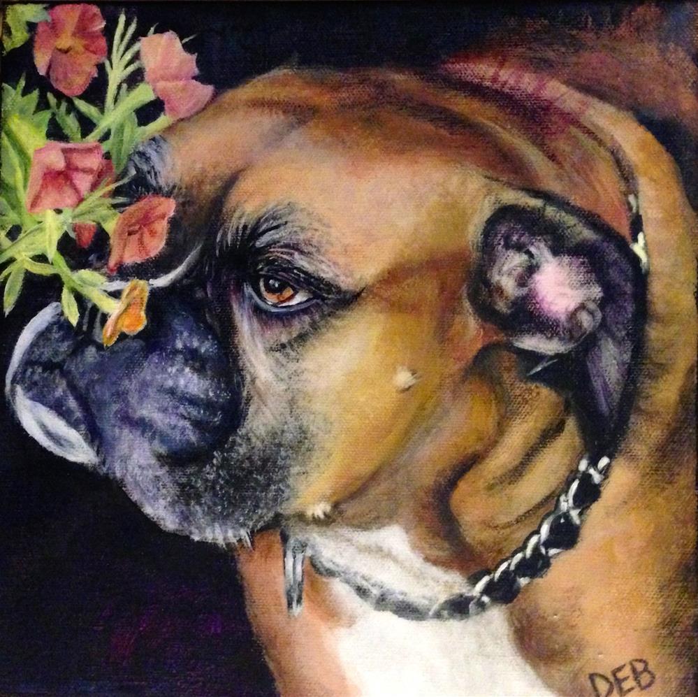 """Madison"" original fine art by Debbie Yacenda"