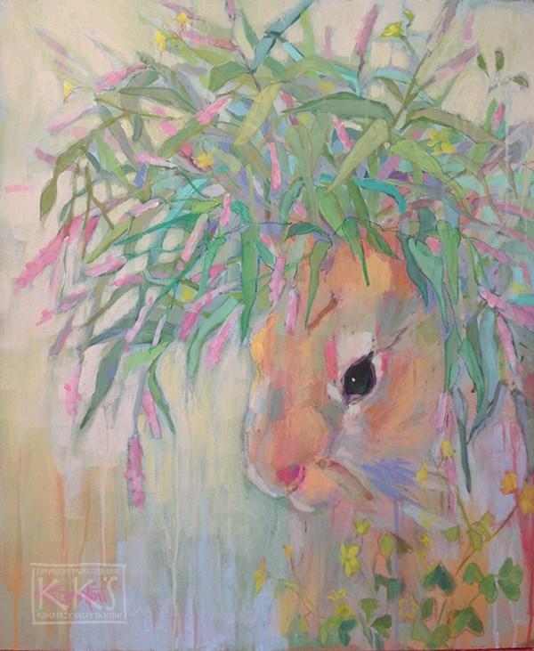 """Tangle"" original fine art by Kimberly Santini"