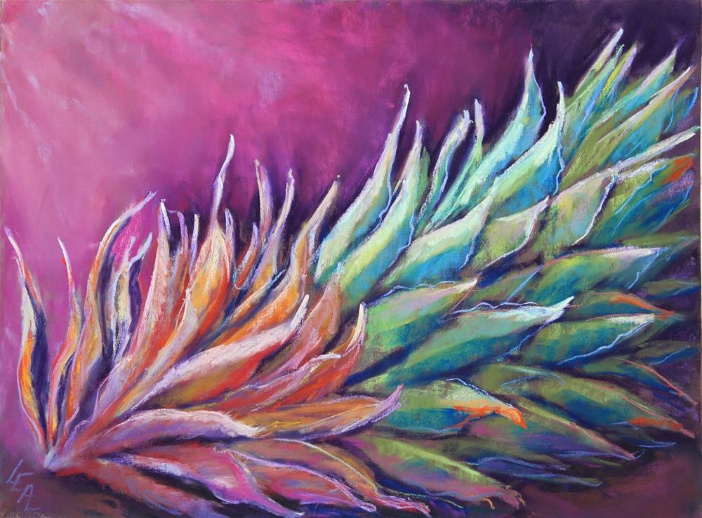 """Persistence"" original fine art by Anna Lisa Leal"