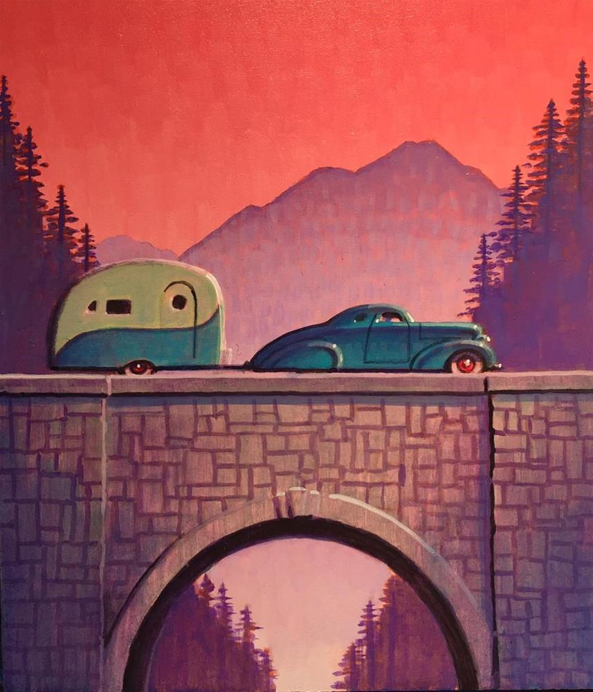 """Traveler"" original fine art by Robert LaDuke"