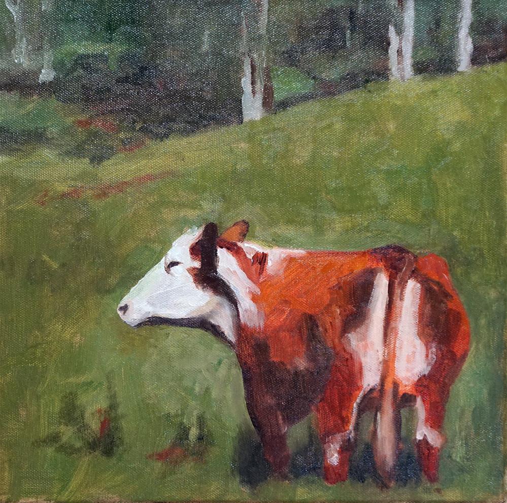 """Heads & Tails"" original fine art by Catherine Van Berg"
