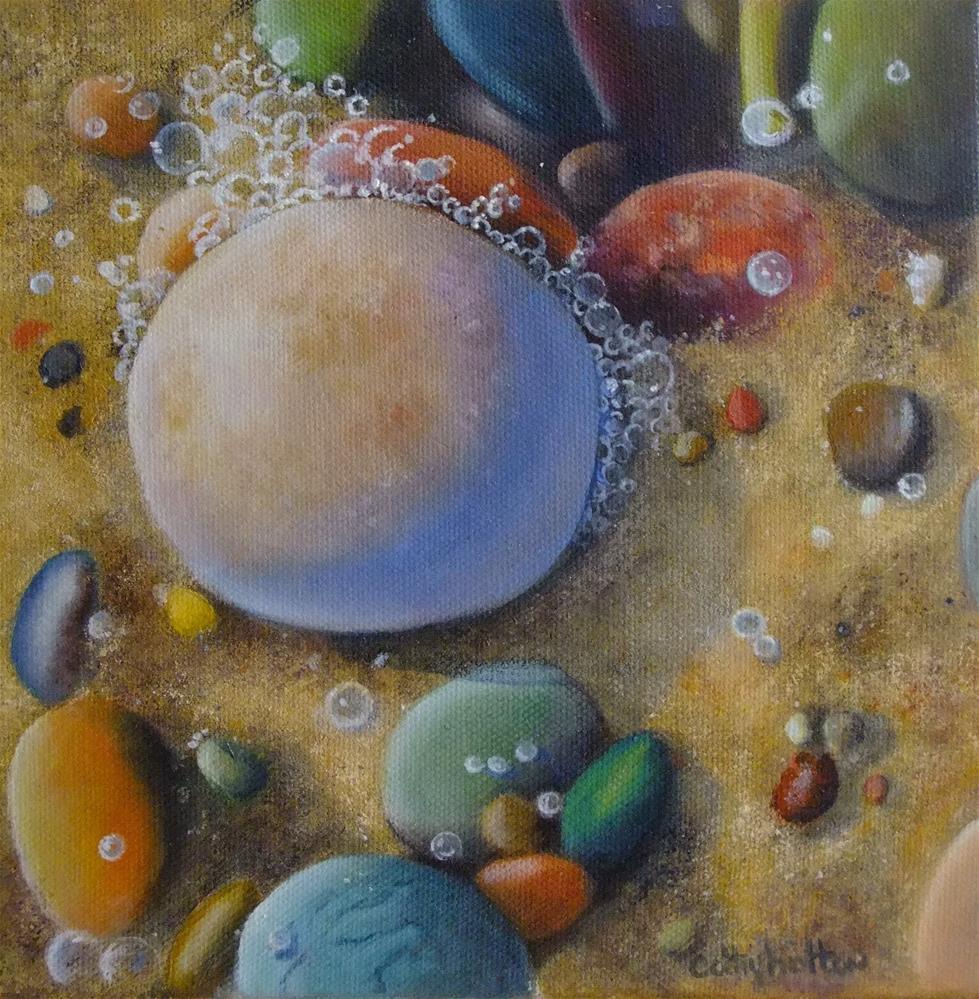"""""""Shoreline"""" original fine art by Cathy Holtom"""