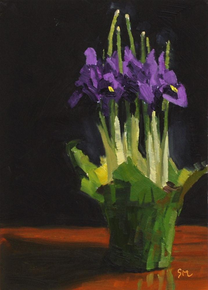 """Longing for Spring"" original fine art by Susan McManamen"