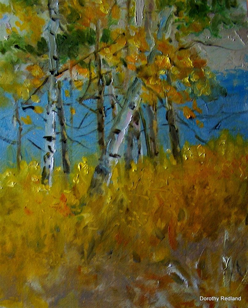 """Early autumn"" original fine art by Dorothy Redland"