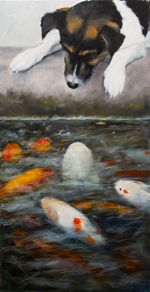 """New Paintings for Feb 28th Show!"" original fine art by Clair Hartmann"