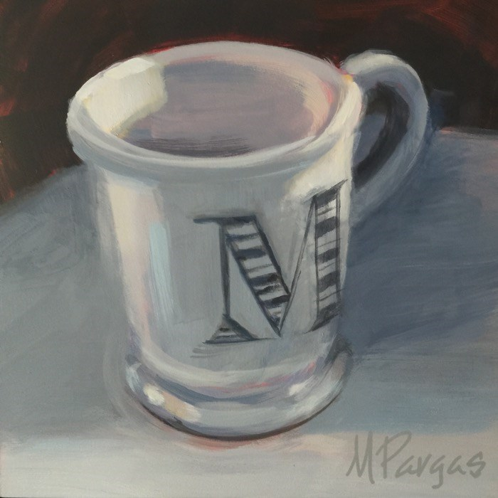 """M is For Us All"" original fine art by Mary Pargas"