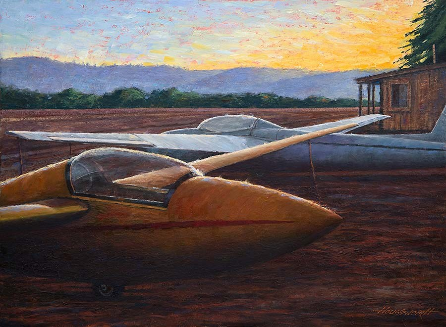 """""""Sight for Soar Eyes"""" original fine art by Terry Houseworth"""