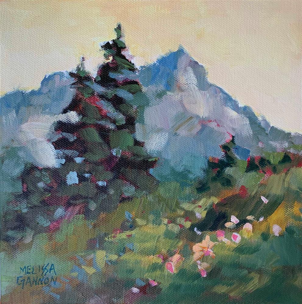 """""""Alpine"""" original fine art by Melissa Gannon"""