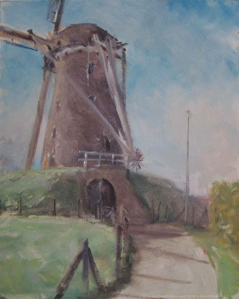 """Prins of Orange Bredevoort, The Netherlands"" original fine art by René PleinAir"