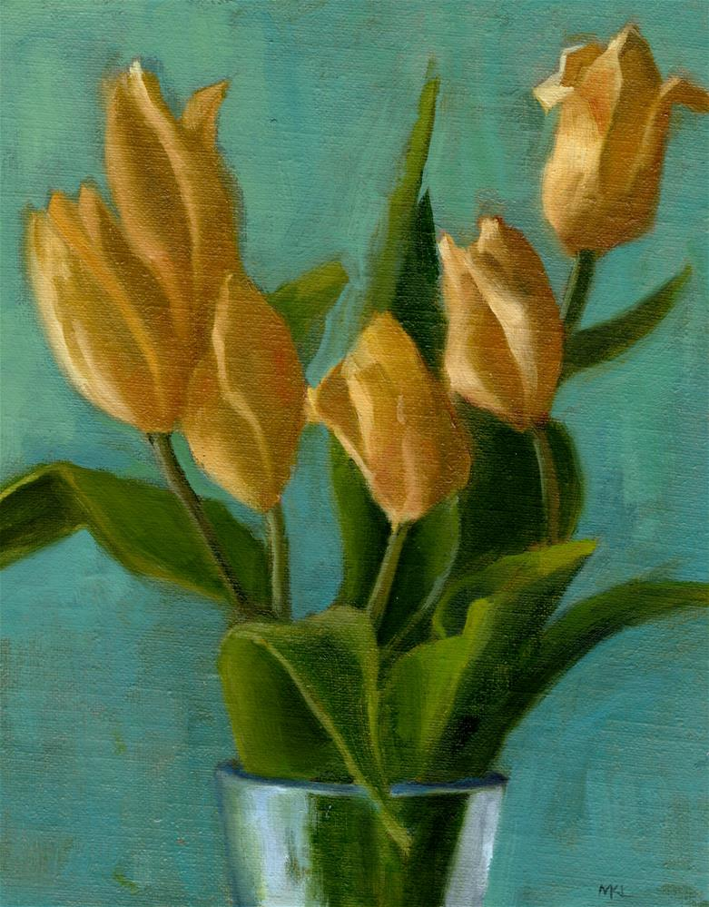 """Gratitude"" original fine art by Marlene Lee"