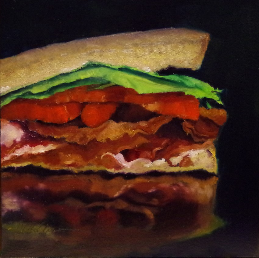 """BLT"" original fine art by Marilyn R. Place"
