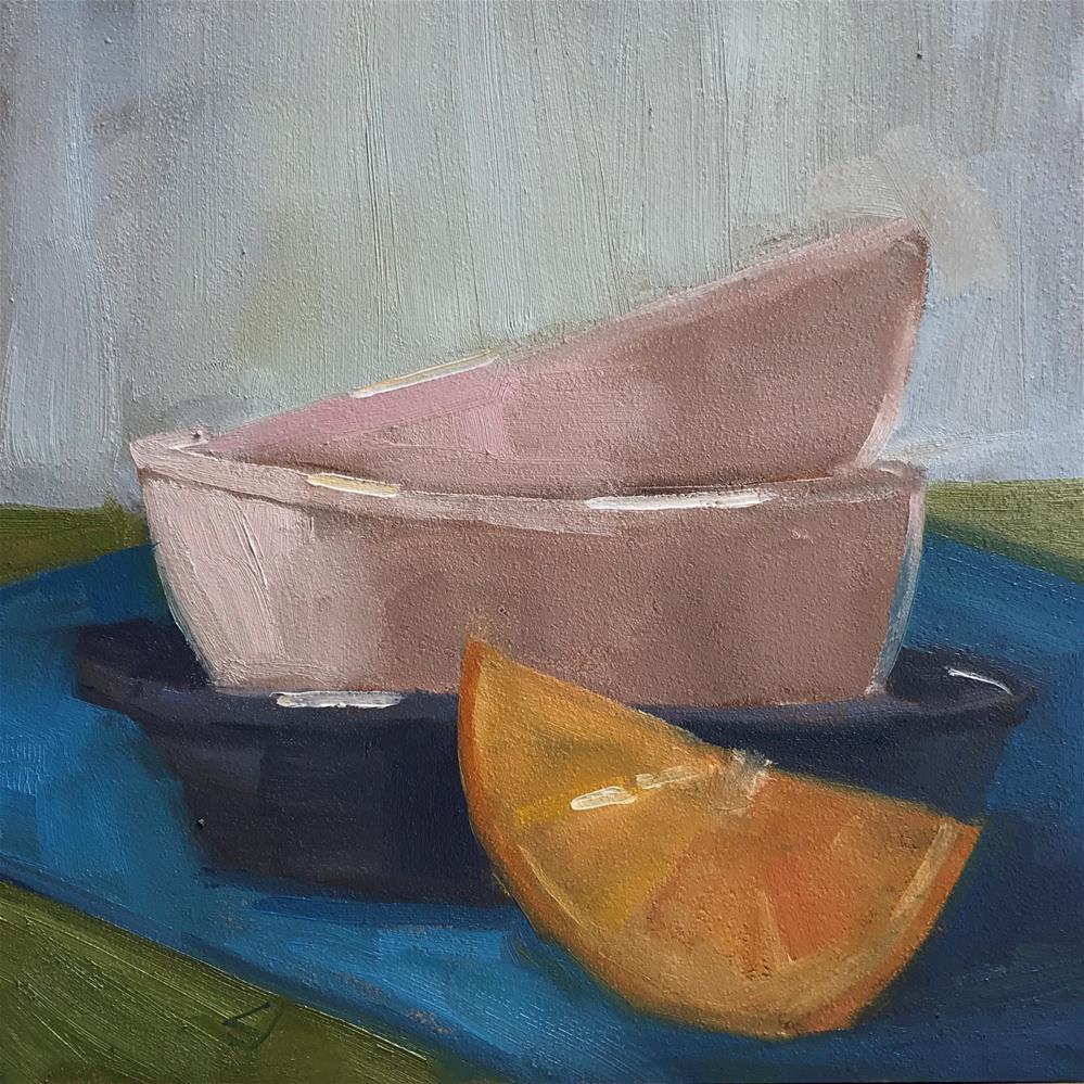 """49 Thin Ice"" original fine art by Carol Johansen"