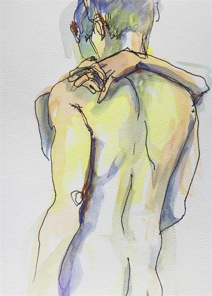 """Embrace"" original fine art by Sally Posner"