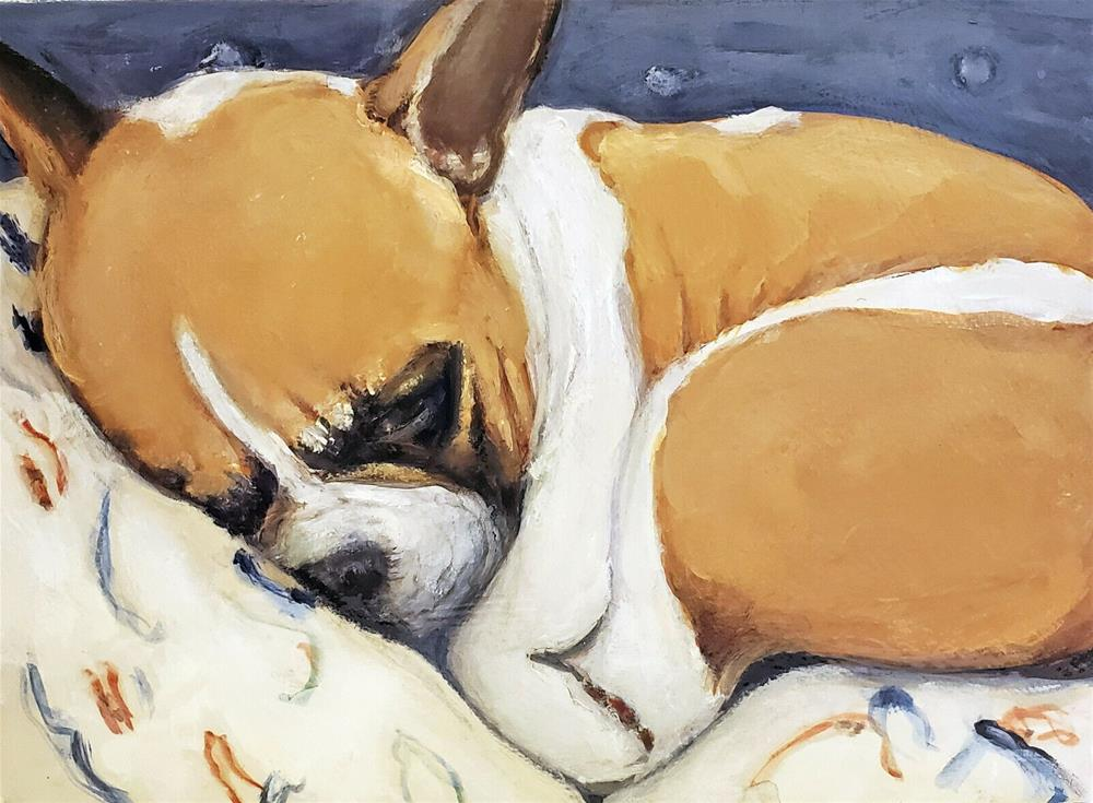 """""""Cuddle Bum"""" original fine art by Sunny Avocado"""