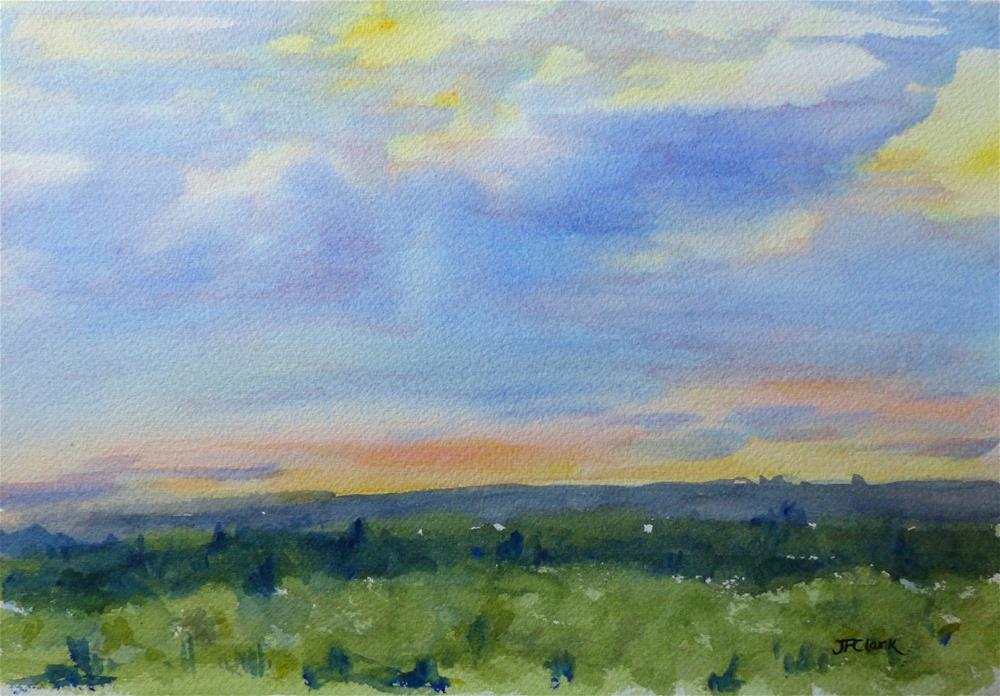 """Westview II, Lincoln MA"" original fine art by Judith Freeman Clark"