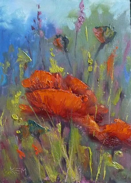 """""""When It Is Time to Add to a Limited Palette"""" original fine art by Karen Margulis"""