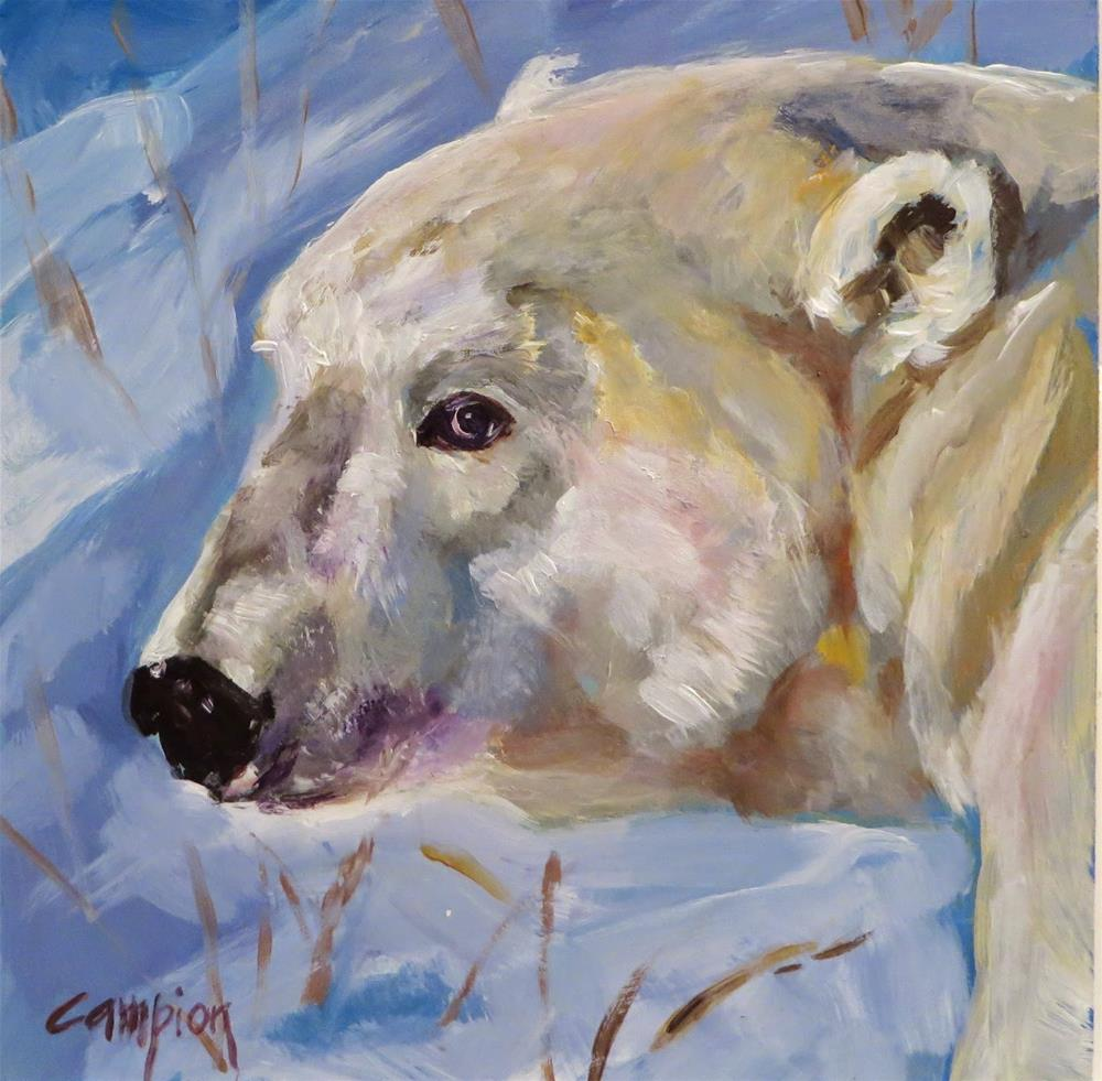 """525 Anticipation"" original fine art by Diane Campion"
