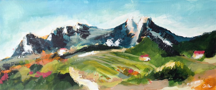 """2871 Dentelles de Montmirail"" original fine art by Dietmar Stiller"