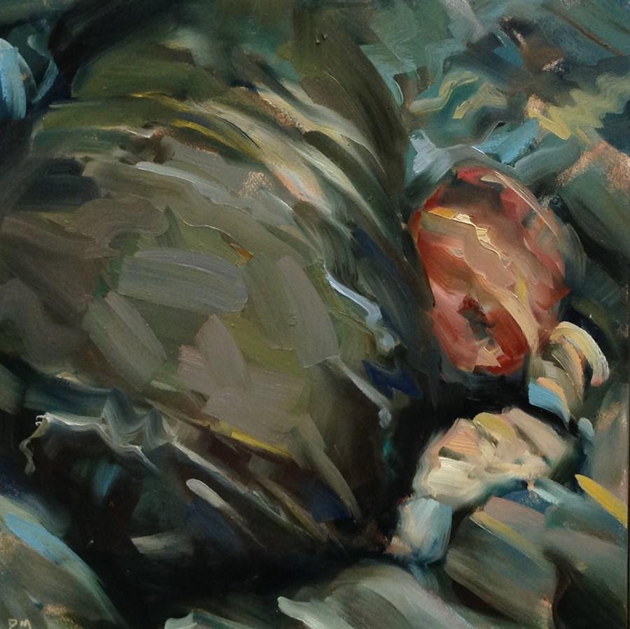 """Water on The Rocks"" original fine art by Patti McNutt"