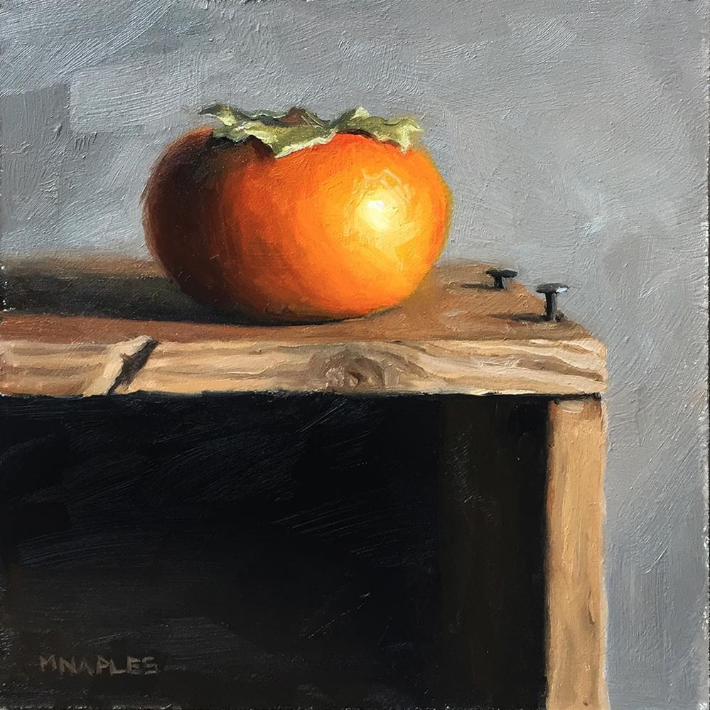 """Andrew's Persimmon"" original fine art by Michael Naples"