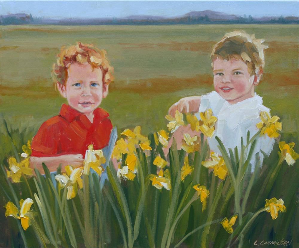 """""""untitled"""" original fine art by Carol Carmichael"""
