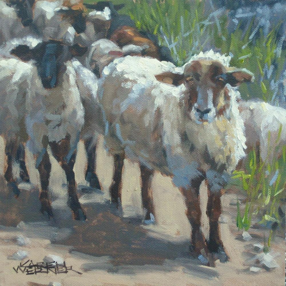 """Gone Astray"" original fine art by Karen Werner"