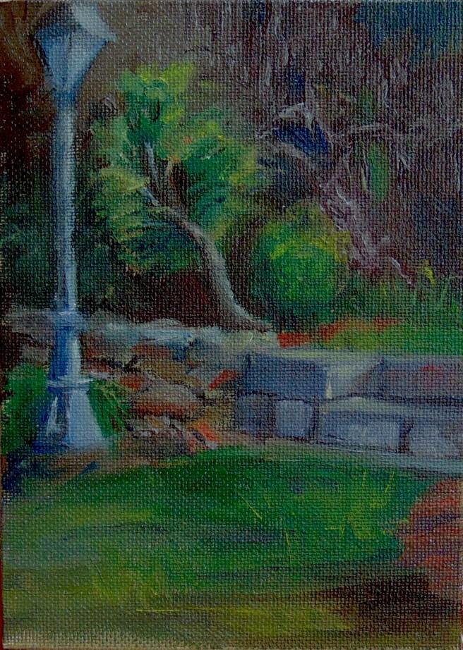 """""""Fredericksburg Plein Aire"""" original fine art by Catherine Kauffman"""