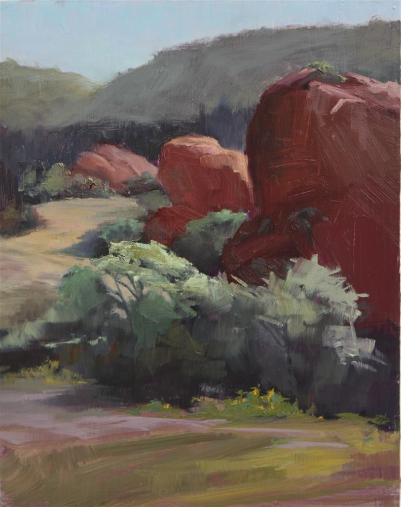 """Sunday Morning at Ken Caryl"" original fine art by Sheila Marie"