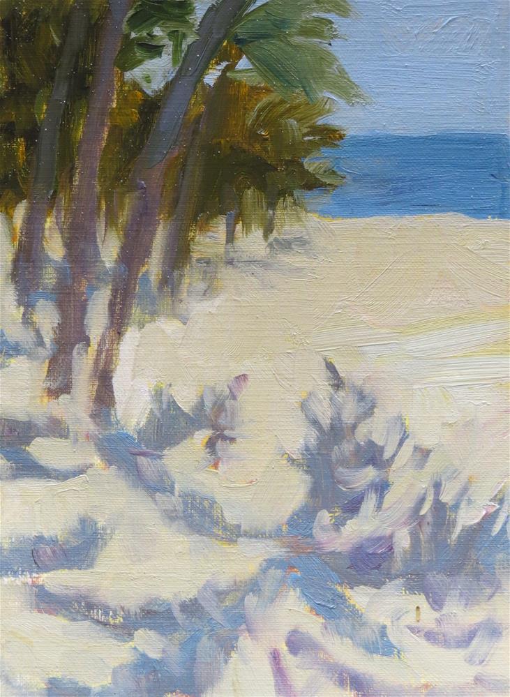 """Warm Light"" original fine art by Pam Holnback"