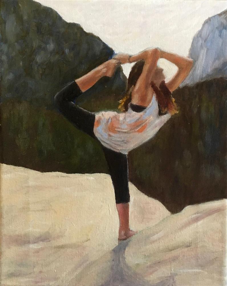 """The Pose"" original fine art by Paul Zarza"