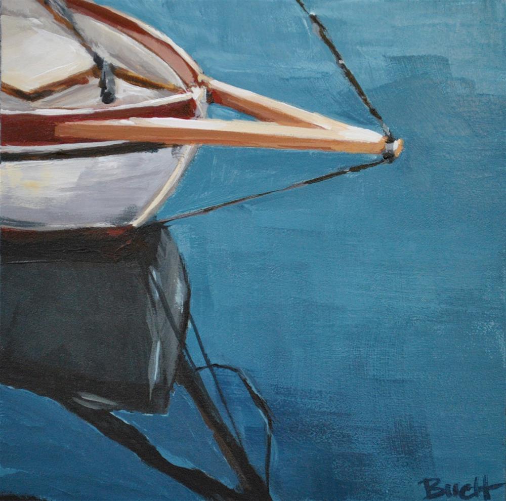 """Bow Reflection"" original fine art by Shari Buelt"