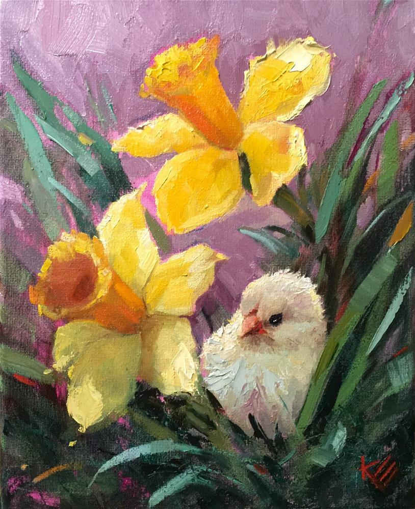 """Springtime Moment"" original fine art by Krista Eaton"