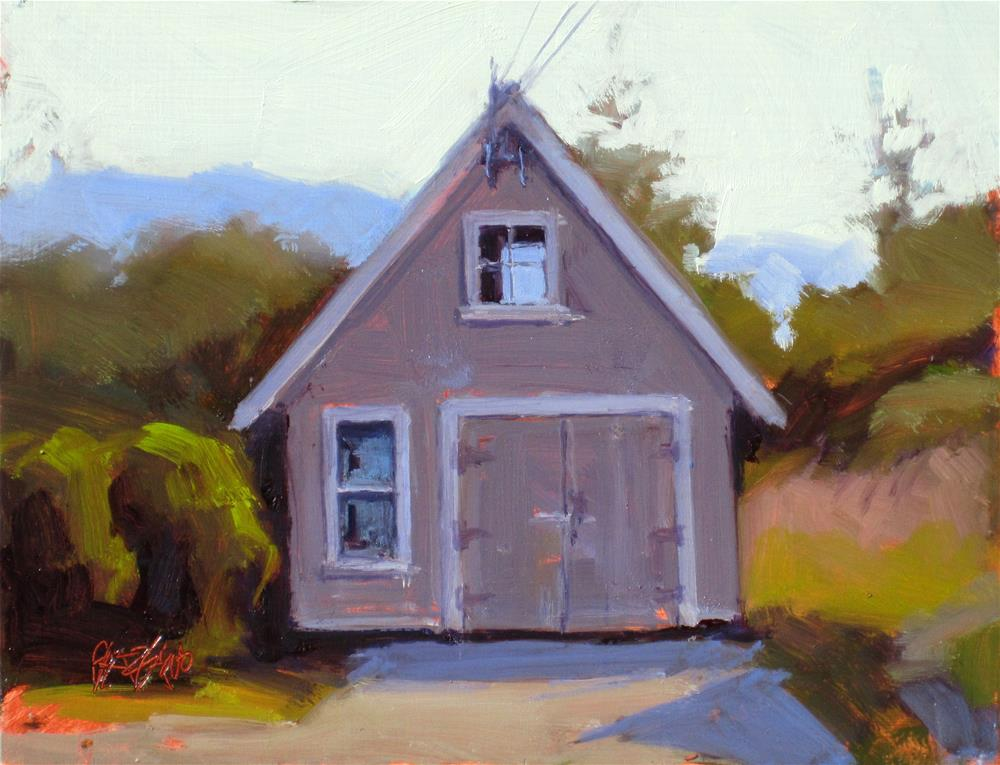 """shed"" original fine art by Dan Graziano"