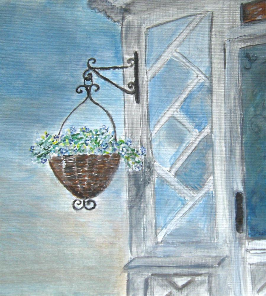 """""""Hanging At The Cafe"""" original fine art by Alina Frent"""