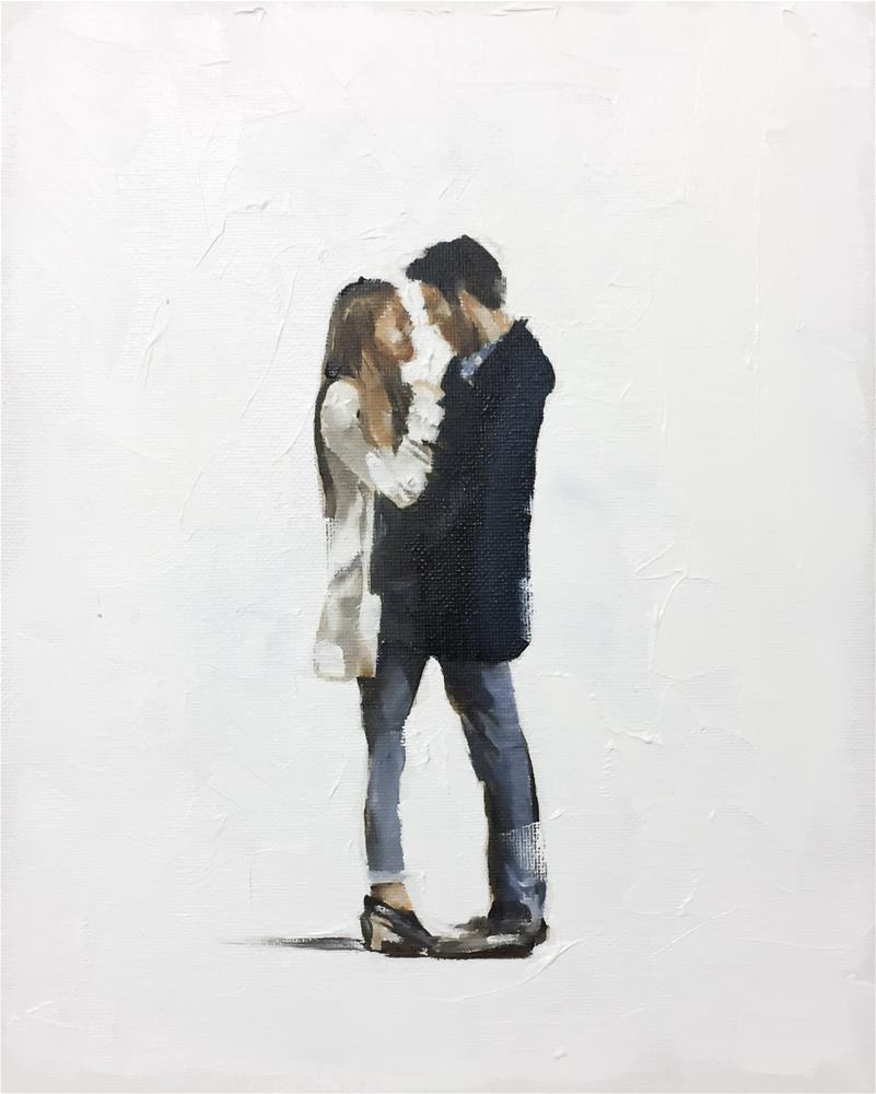 """New Lovers"" original fine art by James Coates"