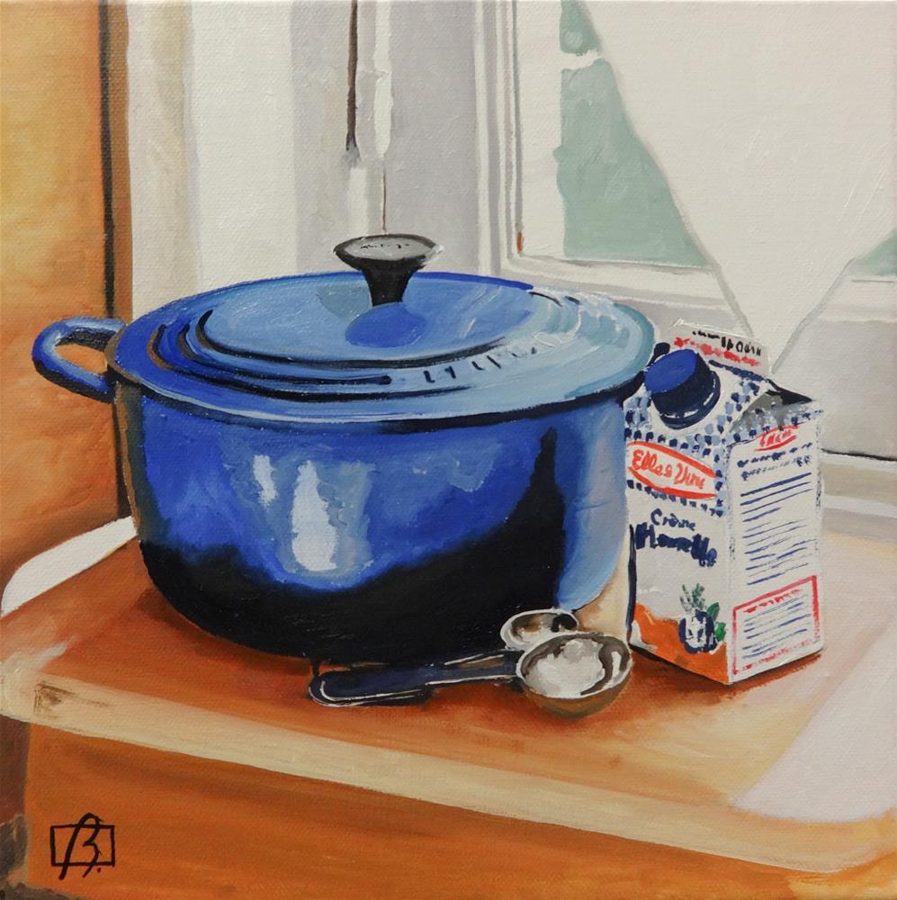 """I Feel Blue"" original fine art by Andre Beaulieu"