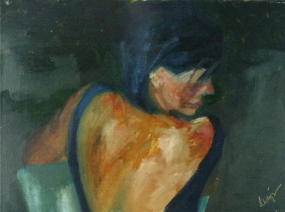 """Mood Music"" original fine art by Sharman Owings"